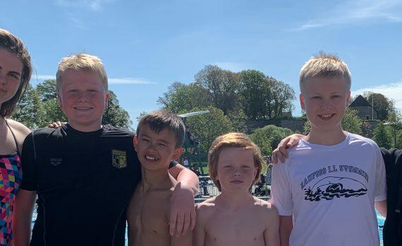 RIL Svømming deltagere KFOO 2019
